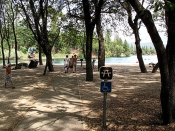 Whiskeytown National Recreation Area is very well equipped with accessible features, and is a beautiful destination for travelers.